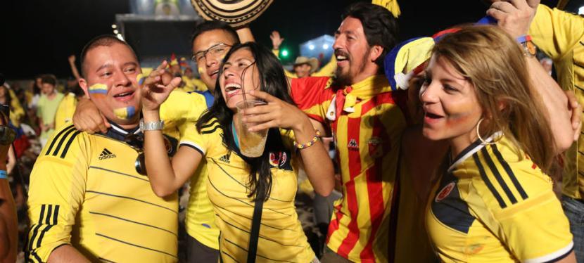 En insiders optakt til kampen mellem Colombia ogUruguay