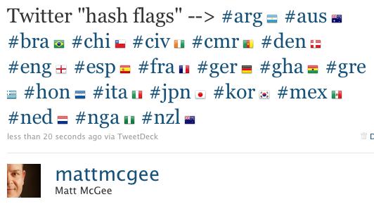 Twitter flagene ertilbage!