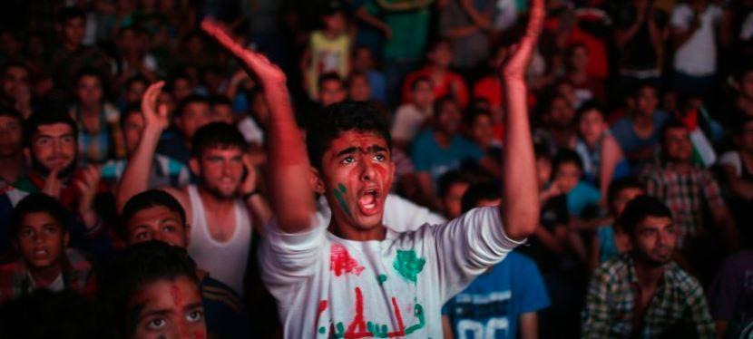 Palæstina ligger nr. 94 på FIFA ranglisten (selvom de ikke officielt er nogetland)