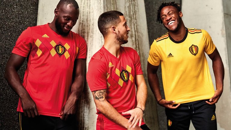 Belgium home and away