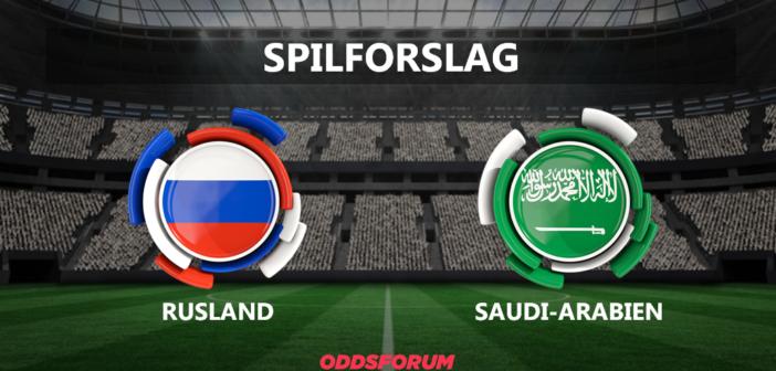 Oddset: Rusland – SaudiArabien