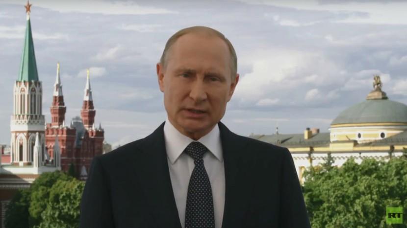 Putin byder velkommen tilVM