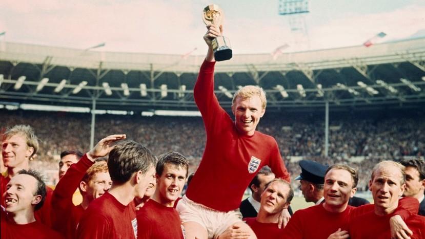 VM finalen fra 1966 i flotfarvefilm