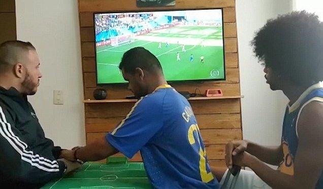 Blinde kan også se VMfodbold